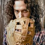 Constantine Maroulis's baseball glove