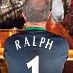 Dave Ralph's football jersey