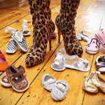 Francis Rivera's baby shoe collection