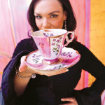 Katie Boyd's teacup collection