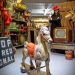 Mari Quirk's vintage horse